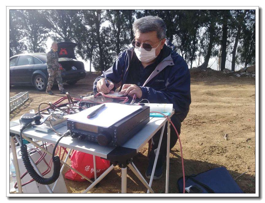 BA4II专稿-我梦中的冰达坂-济南黄河业余无线电439.110