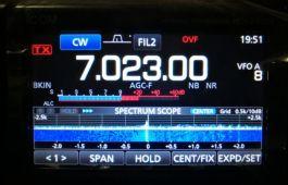 BA4II专稿-I-COM7300用一根USB线就能用N1MM拍发CW-济南黄河业余无线电439.110