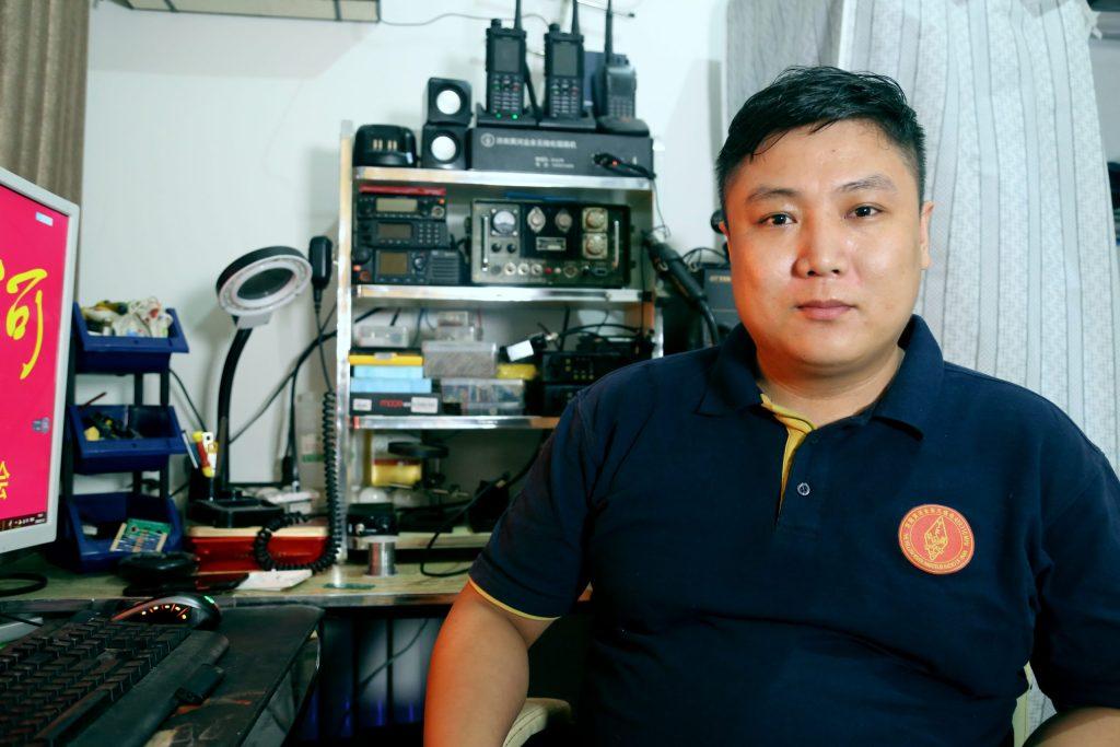 专访济南黄河业余无线电滔滔管理BI4LFW-无线电与互联网的关系-济南黄河业余无线电439.110