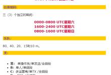 SARTG WW RTTY比赛-济南黄河业余无线电439.110