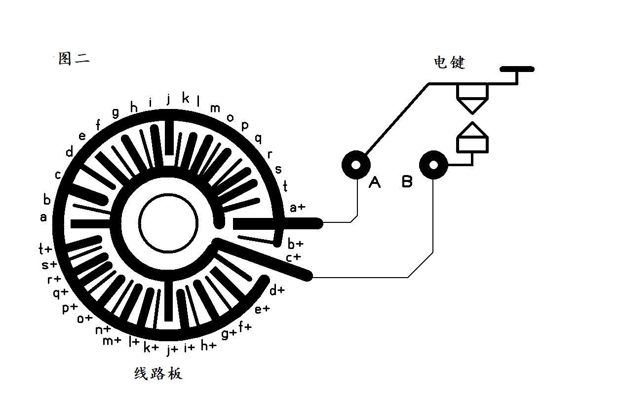 自制机械式自动电码发送装置-济南黄河业余无线电439.110